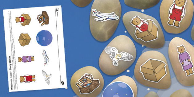 Whatever Next! Story Stone Image Cut-Outs - whatever next!, story stone, image, cut outs