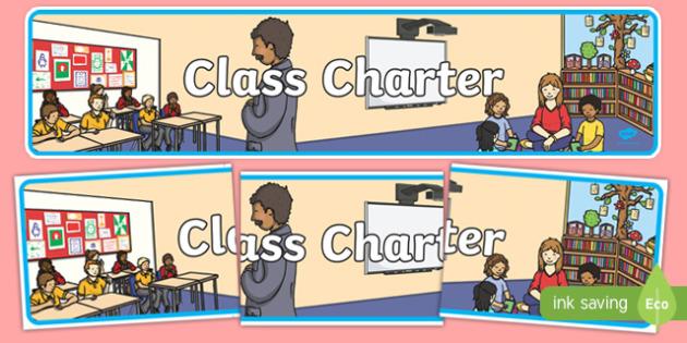 Class Charter Display Banner - class charter, class, charter, display banner, display, banner