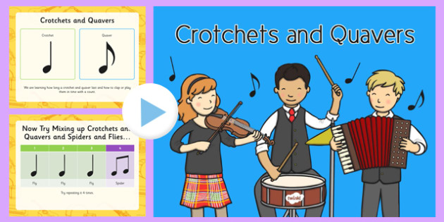 Lesson 1 Crotchets and Quavers PowerPoint