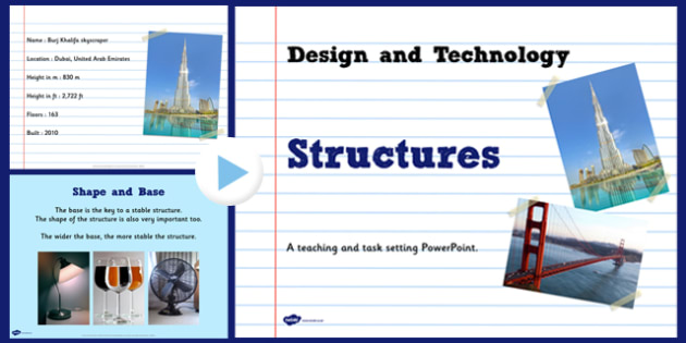 Structures Informative Task Setting PowerPoint - structures, task