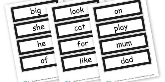 Our Word Wall - Word Wall Primary Resources, word wall, brick, bricks, keywords