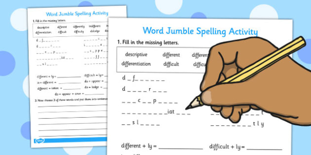 Prefixes and Suffixes Spelling Activity - spelling, activity