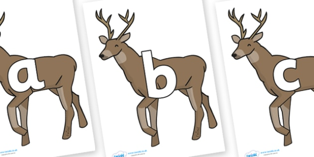 Phoneme Set on Stags - Phoneme set, phonemes, phoneme, Letters and Sounds, DfES, display, Phase 1, Phase 2, Phase 3, Phase 5, Foundation, Literacy