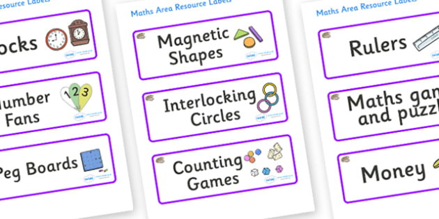 Oyster Themed Editable Maths Area Resource Labels - Themed maths resource labels, maths area resources, Label template, Resource Label, Name Labels, Editable Labels, Drawer Labels, KS1 Labels, Foundation Labels, Foundation Stage Labels, Teaching Labe