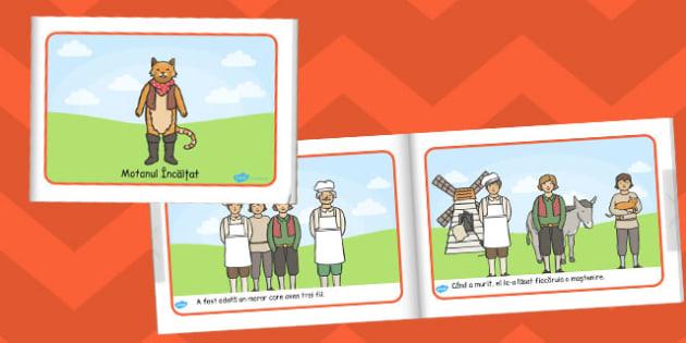 Motanul Incaltat, rezumat, poveste ilustrata, carte electronica, Romanian