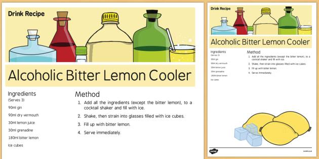 Pancake Day Alcoholic Drink Recipe - Elderly, Reminiscence, Care Homes, Pancake Day
