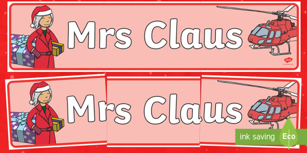 Mrs Claus Display Banner - M&S Christmas, Marks, Spencers, Advert, Mrs Christmas, Mrs Claus, banner, display