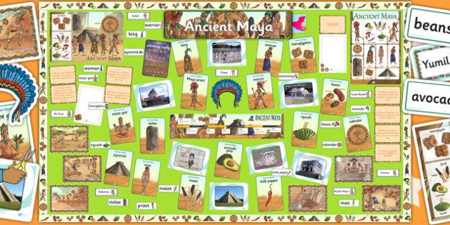 Ready Made Maya Civilisation Display Pack - ready made, display