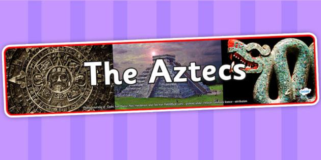 The Aztecs Photo Display Banner - aztecs, photo display banner, display banner, display, banner, photo banner, header, display header, photo header, photo