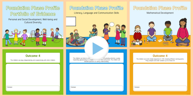 Foundation Phase Profile Portfolio of Evidence PowerPoint Outcome 4 Outcome 6 - welsh, cymraeg, Foundation Phase Profile, Portfolio of Evidence, Outcome 4, Outcome 5, Outcome 6