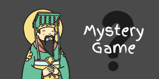 Chinese New Year MYSTERY Game - chinese new year, mystery, game