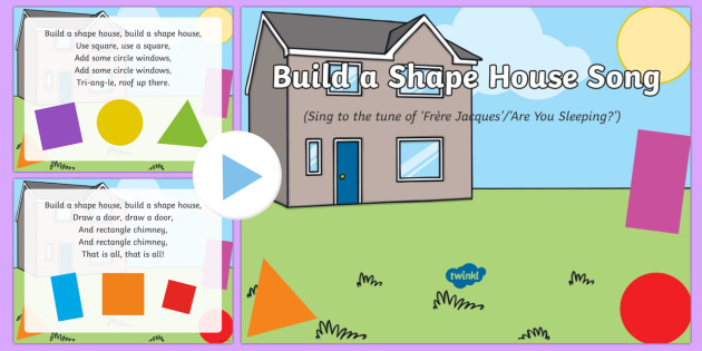 Build a Shape House Song PowerPoint