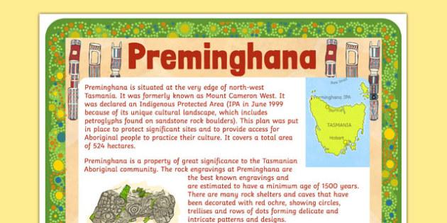 Aboriginal and Torres Strait Island People Preminghana Poster