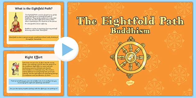 The Eightfold Path PowerPoint