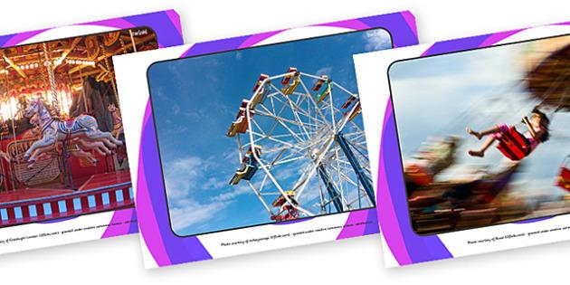 Fairground Rides Display Photos - fairground, fairgrounds, rides, ride, fun, display, photos, images, kids, children, sweets, picture, wheel, carousel, merry-go-round, ride, ferris, stalls, activity