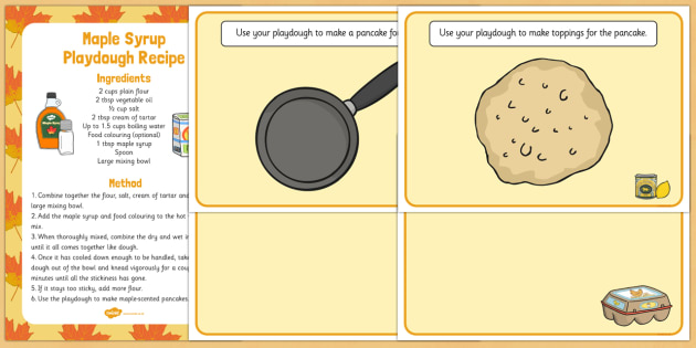 Pancake Day Themed Playdough Recipe and Mat Pack - EYFS planning, fine ...
