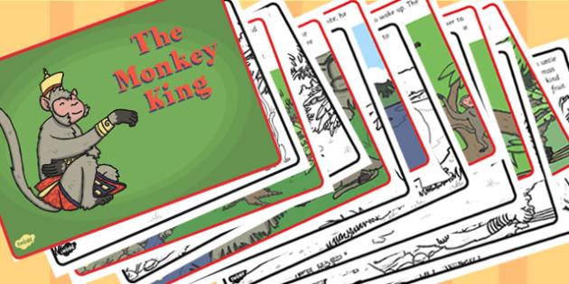 The Monkey King Story - monkey king, story, religion, buddhism