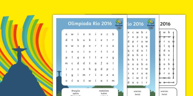 Wyszukiwanie słów Rio 2016 po polsku