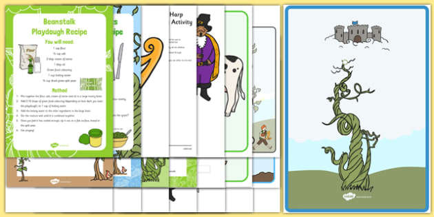 Childminder Jack and the Beanstalk Resource Pack - EYFS, childminder, jack and the beanstalk