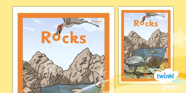 PlanIt - Science Year 3 - Rocks Unit Book Cover - planit, science, year 3, book cover, rocks