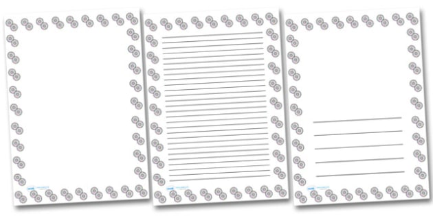 CDs Portrait Page Borders- Portrait Page Borders - Page border, border, writing template, writing aid, writing frame, a4 border, template, templates, landscape