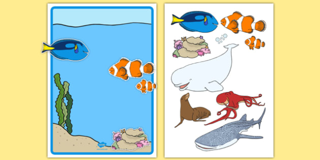 Under the Sea Adventure Editable Note - finding nemo, finding dory, under the sea adventure, editable note