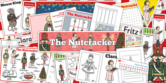 The Nutcracker Resource Pack - resource, pack, nutcracker, story