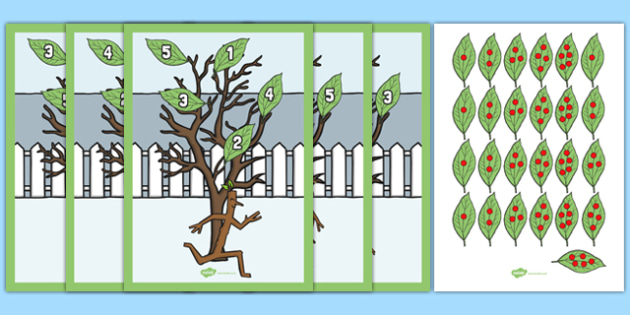 The Family Tree Counting Game Resource Pack to Support Teaching on Stick Man - family tree, counting game, resource, pack
