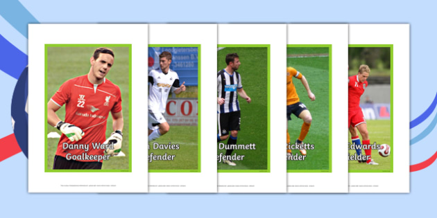 Wales Qualifying Squad for the EURO 2016 Tournament Photo Display Pack - welsh, cymraeg, Photo Display Pack, Wales Euro 2016, Welsh Squad