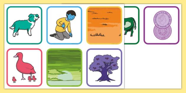 Wrong Colour Flashcards - wrong colour, colour, flash cards, flashcards