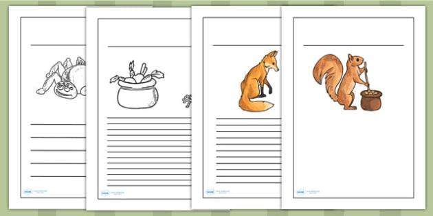 Why Anansi Has Eight Skinny Legs Writing Frames - writing aid