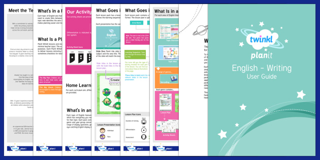 PlanIt English Writing User Guide - planit, english, user guide, user, guide, planit english