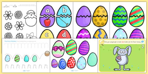 Easter Activity Pack EYFS - easter, religion, RE, EYFS, eggs