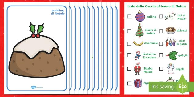 Caccia al tesoro di Natale pacco attivita'  - Caccia la tesoro, natale, natalizio, babbo natale, festivita\', esercizio