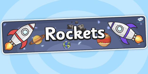 Rockets Topic Display Banner - rockets, space, rocket display, space display, rocket display banner, space display banner, display banner, space topic