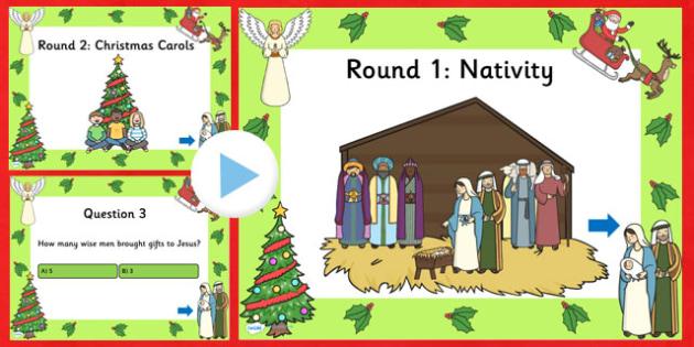 EYFS Christmas Quiz PowerPoint