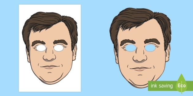 Ed Balls Role Play Masks - strictly, ed balls, dancing, role play mask, masks, ballroom dancing, latin dancing.