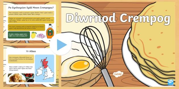 Cyflwyniad Gwasanaeth Diwrnod Crempog - diwrnod, crempog, crempogau, Chwefror, Mawrth, ynyd, grawys, gwasanaeth,Welsh