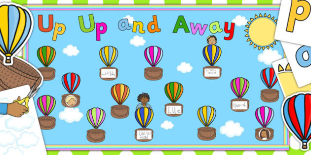 Ready Made Up Up and Away Display Pack - ready made, display