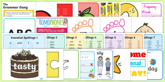 New Zealand Literacy Area Display Pack