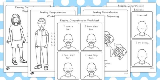 Reading Comprehension Worksheets - australia, reading, comprehension