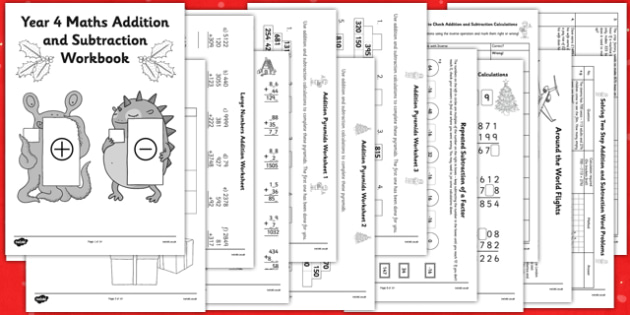 Christmas Subtraction Worksheets christmas math activities – Christmas Subtraction Worksheets
