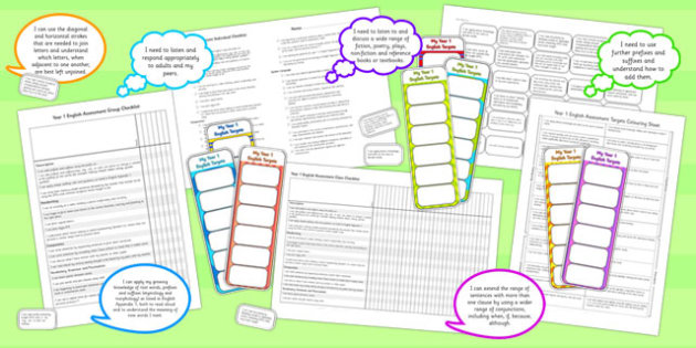 2014 Curriculum LKS2 Year 3 and 4 English Assessment Resource Pack