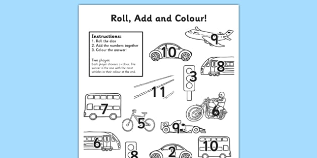 Transport Roll and Colour - transport, roll and colour, roll, colour, transportation