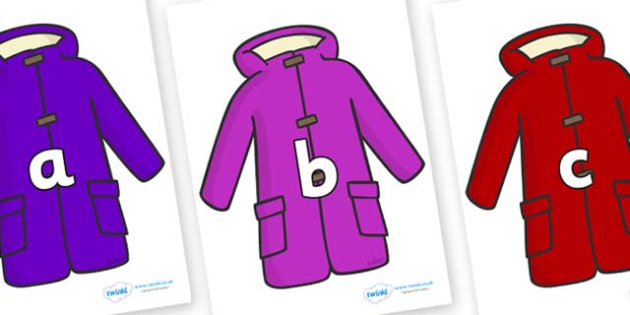 Phase 2 Phonemes on Coats - Phonemes, phoneme, Phase 2, Phase two, Foundation, Literacy, Letters and Sounds, DfES, display
