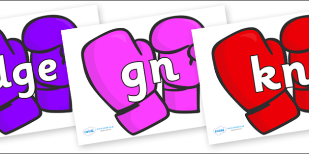Silent Letters on Mittens - Silent Letters, silent letter, letter blend, consonant, consonants, digraph, trigraph, A-Z letters, literacy, alphabet, letters, alternative sounds