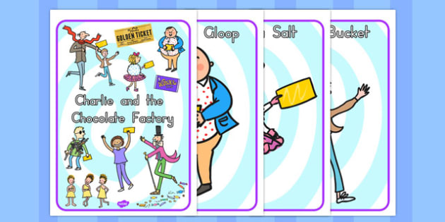 Display Posters to Support Teaching on Charlie and the Chocolate Factory - australia