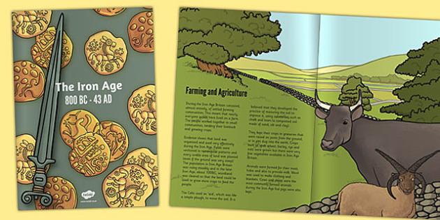 Iron Age eBook - iron age, ebook, e-book, information, iron
