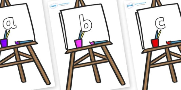 Phase 2 Phonemes on Easel - Phonemes, phoneme, Phase 2, Phase two, Foundation, Literacy, Letters and Sounds, DfES, display