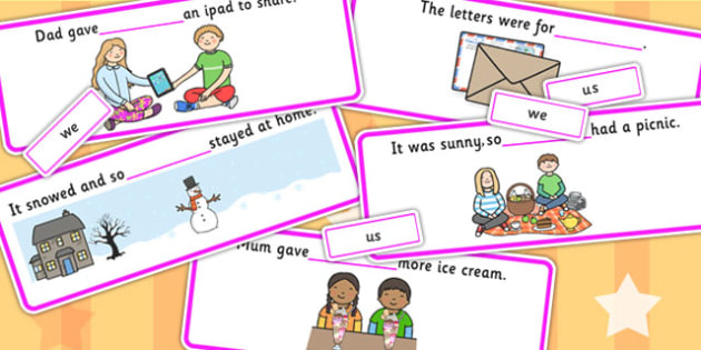 Finish The Sentence We Us Cards - writing aid, visual aid, cards